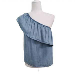 American Eagle Outfitters One Shoulder Blouse